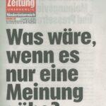 Klagsdrohung der Gemeinde gegen Harbach Info